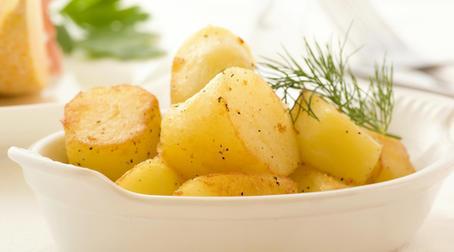 Картофель и кефир