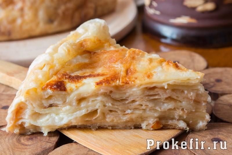 Ачма с сыром из лаваша: фото 19