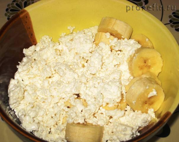 Добавления творога для бананово-творожного крема