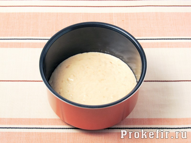 Банановый кекс в мультиварке без сливочного масла на кефире: фото 5