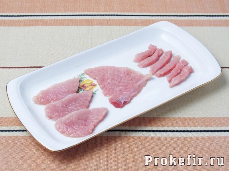 Бефстроганов из свиныны с подливкой: фото 2