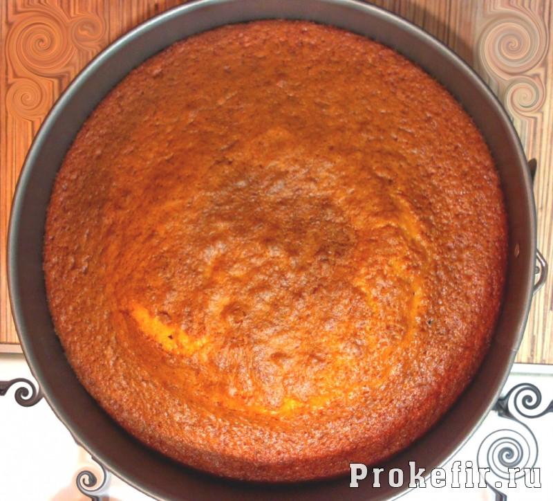 Бисквит для торта на кефире: фото 8