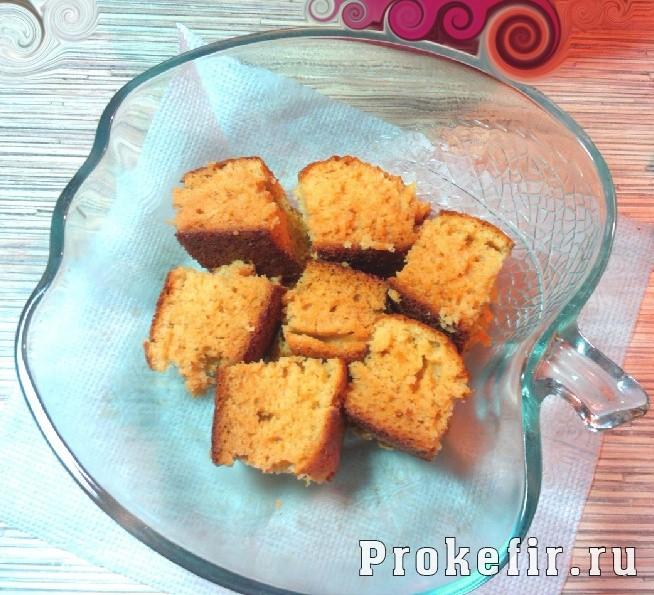 Бисквит для торта на кефире: фото 9