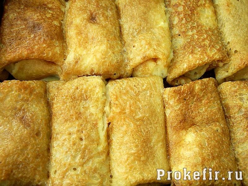 блинчики с изюмом и творогом рецепт с фото пошагово