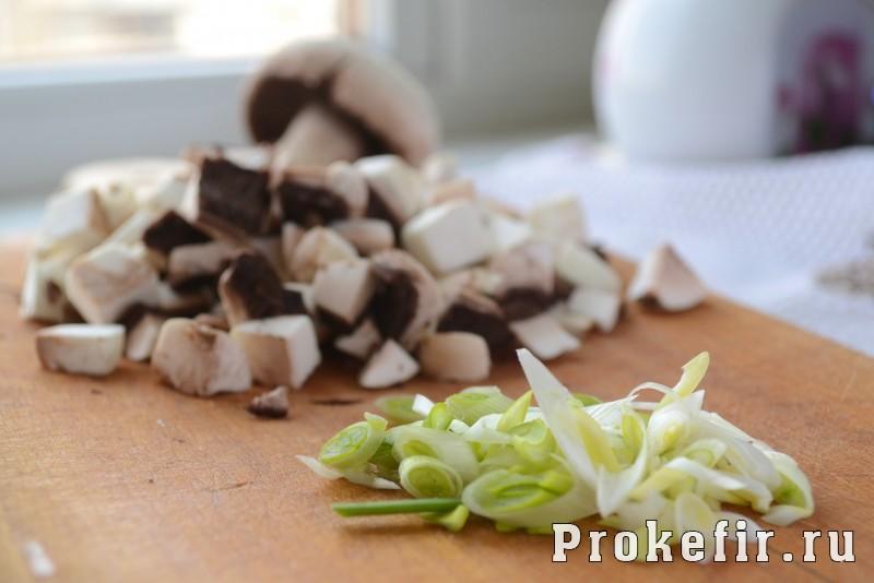Блинные мешочки с курицей и грибами: фото 6