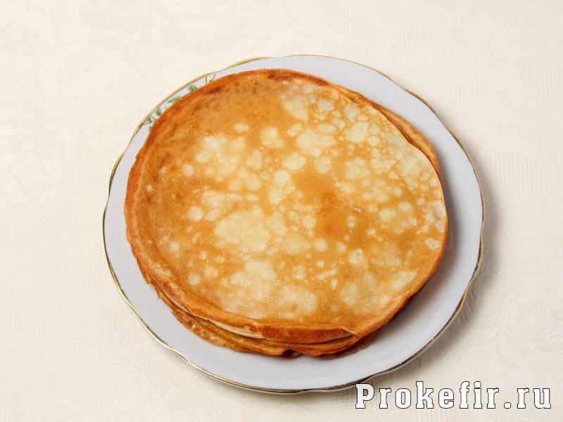 Блинный торт с заварным кремом: фото 7