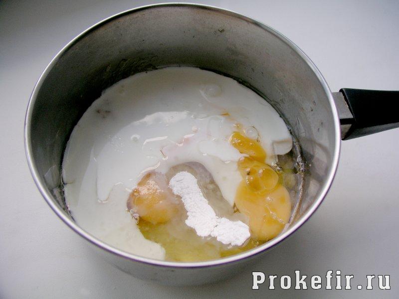 Блины из банана и яиц без муки на кефире: фото 6