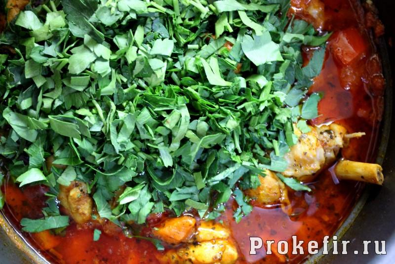 Чахохбили из курицы по грузински: фото 11