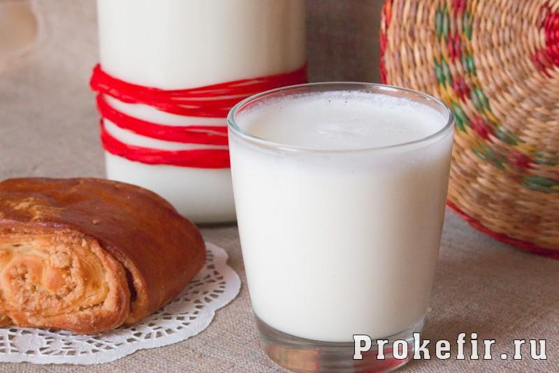 Домашний кефир в мультиварке из молока
