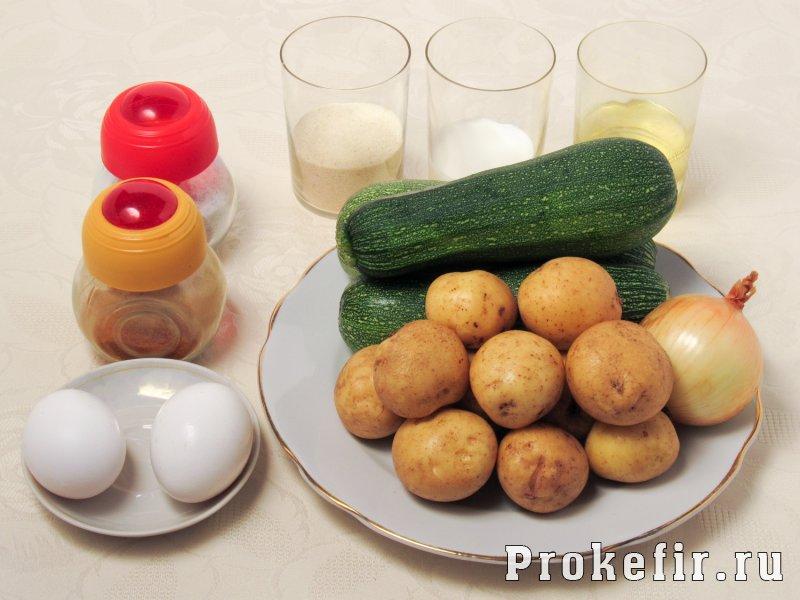 Драники из кабачков на сковороде пышные с манкой и кефиром: фото 1