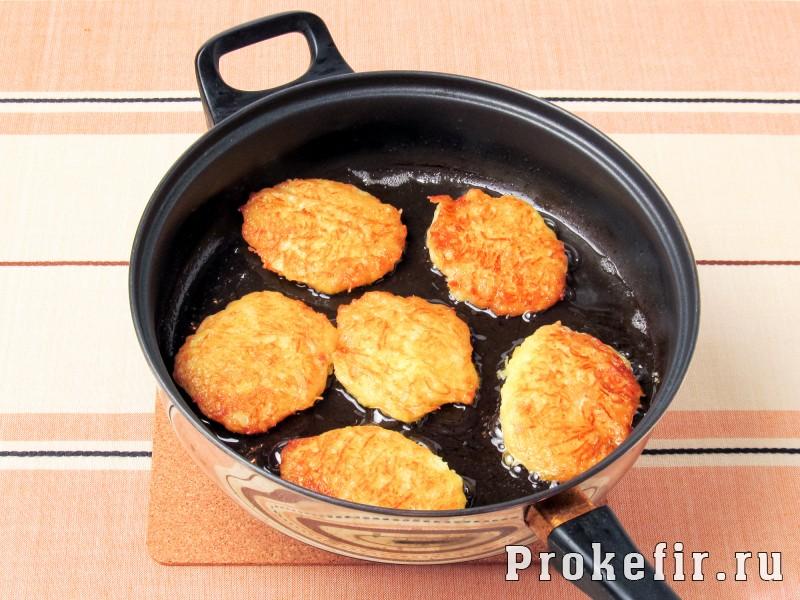 Драники картофельные рецепт классический: фото 3