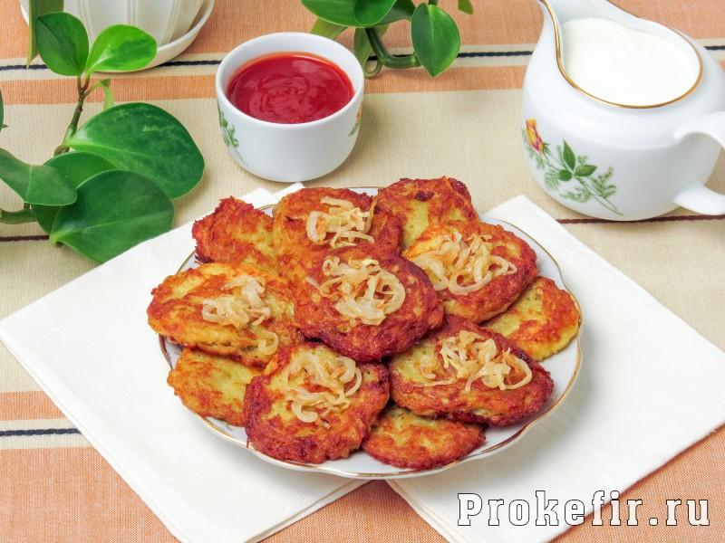 Драники картофельные рецепт классический: фото 5