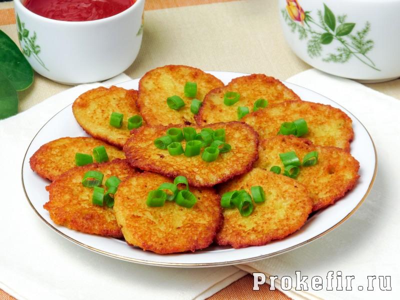Драники картофельные рецепт классический: фото 6