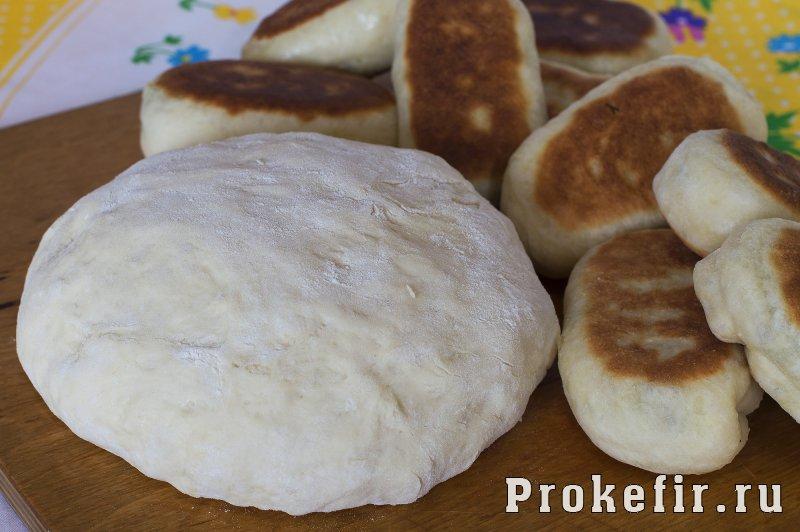 Дрожжевое тесто для жареных пирожков на кефире и сухих дрожжах: фото 9