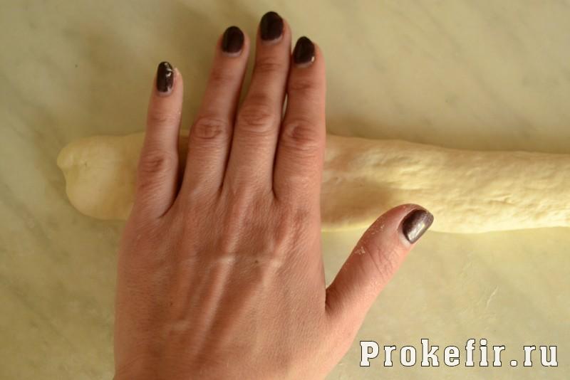 Франтсузский багет рецепт в духовке на живых дрожжах: фото 8