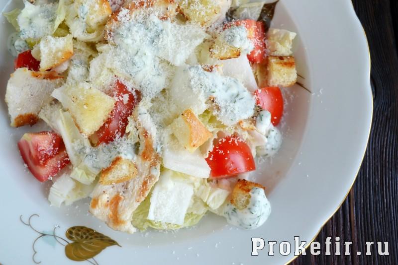 Греческий салат рецепт классический с пекинской капустой и сухариками: фото 7