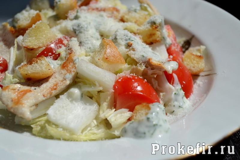 Греческий салат рецепт классический с пекинской капустой и сухариками