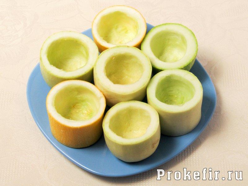 Кабачки тушеные с рисом и фаршем в томатно кефирной заливке: фото 2