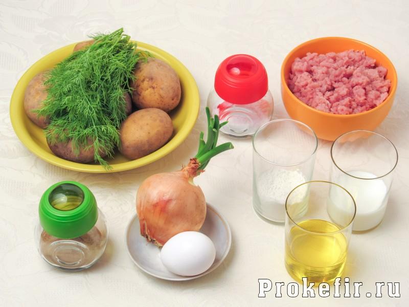 Картофельные драники с фаршем в духовке: фото 1