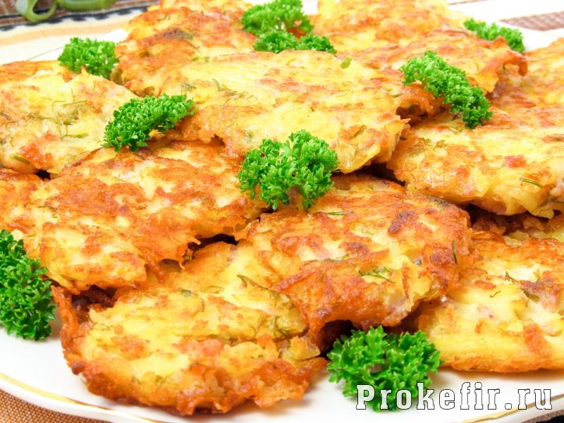 Драники картофельные с сыром рецепт пошаговый в духовке