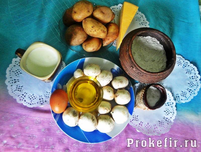 Картофельные оладьи с грибами и сыром: фото 1