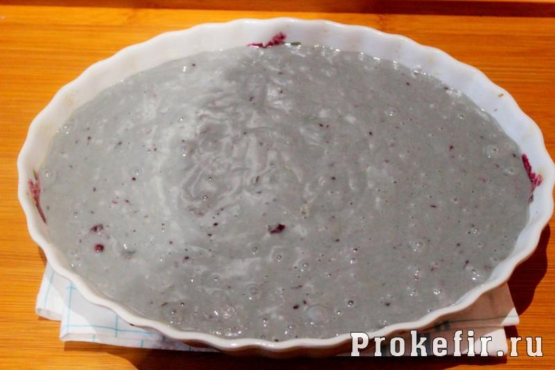 Кекс на простокваше с вареньем: фото 8