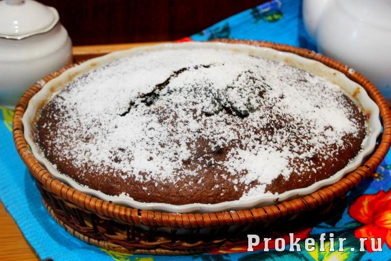 Кекс на простокваше с вареньем: фото 9