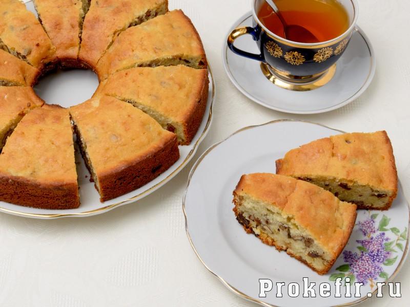 Кекс с манкой на кефире: фото 4
