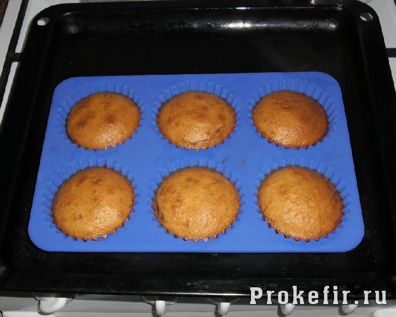 Рецепт кексиков в силиконовых формочках - фото 7