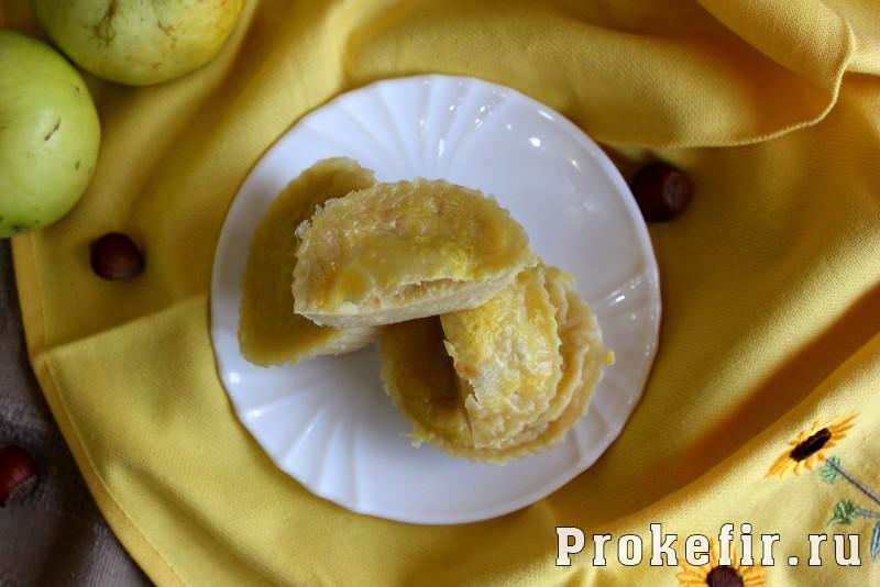 Кексы с дыней и творогом на кефире: фото 9