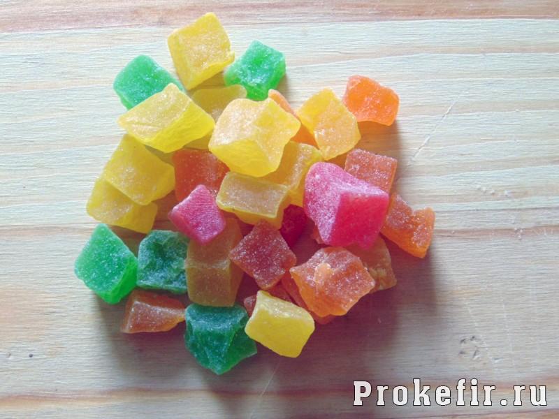 Кексы с цукатами на кефире: фото 11