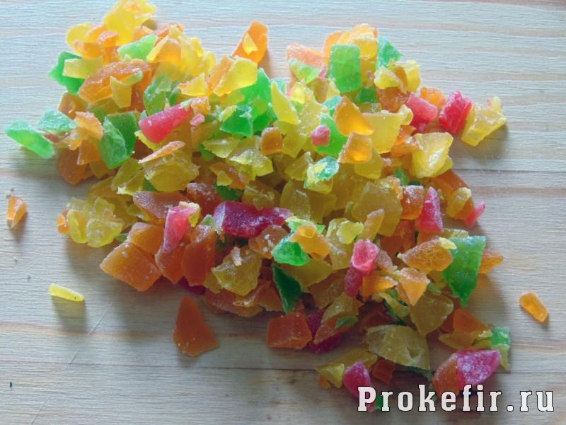 Кексы с цукатами на кефире: фото 12