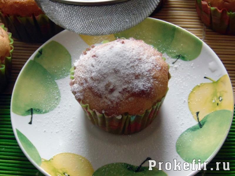 Кексы с цукатами на кефире: фото 22