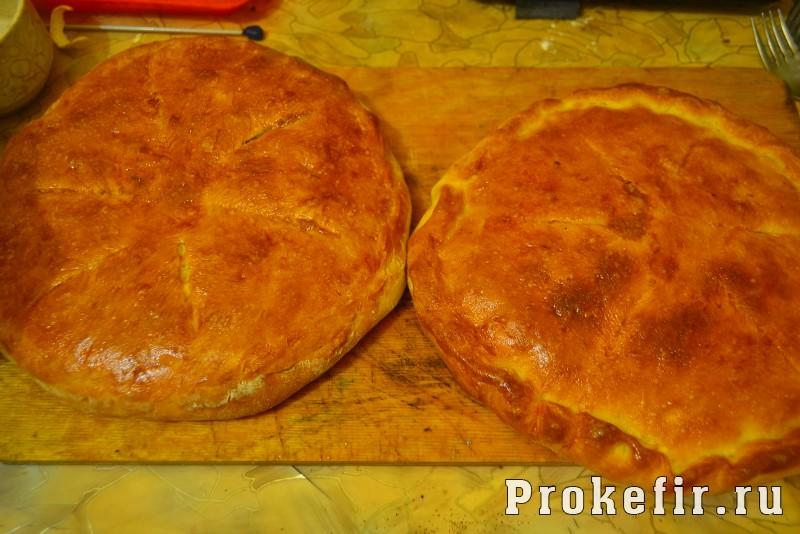 Хачапури с мясом на кефире: фото 7