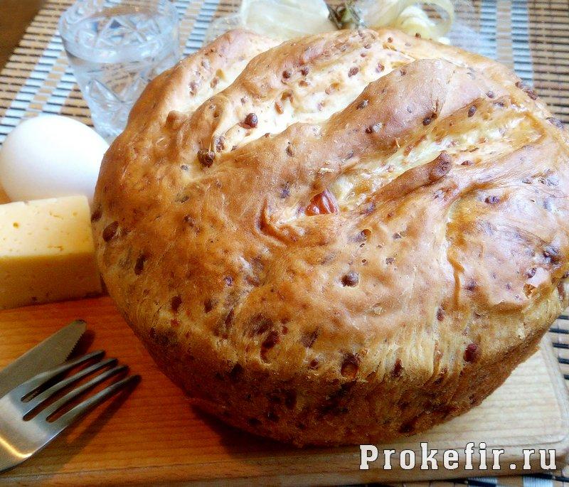 Хлеб с сыром на кефире: фото 10