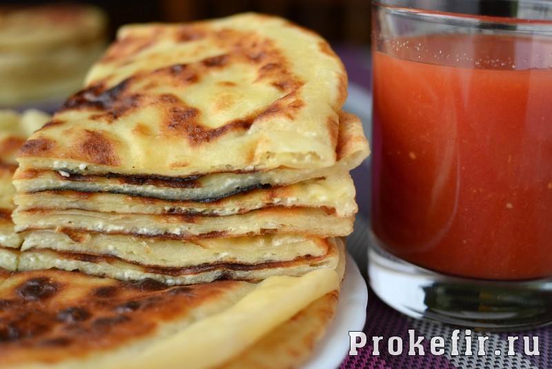 Хычины с сыром и картофелем: фото 11