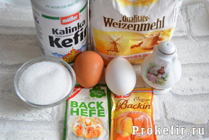 Кребел рецепт на кефире с дрожжами: фото 1