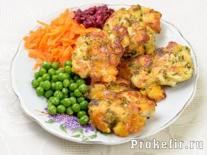 Куриные котлеты на кефире с сыром: фото 4