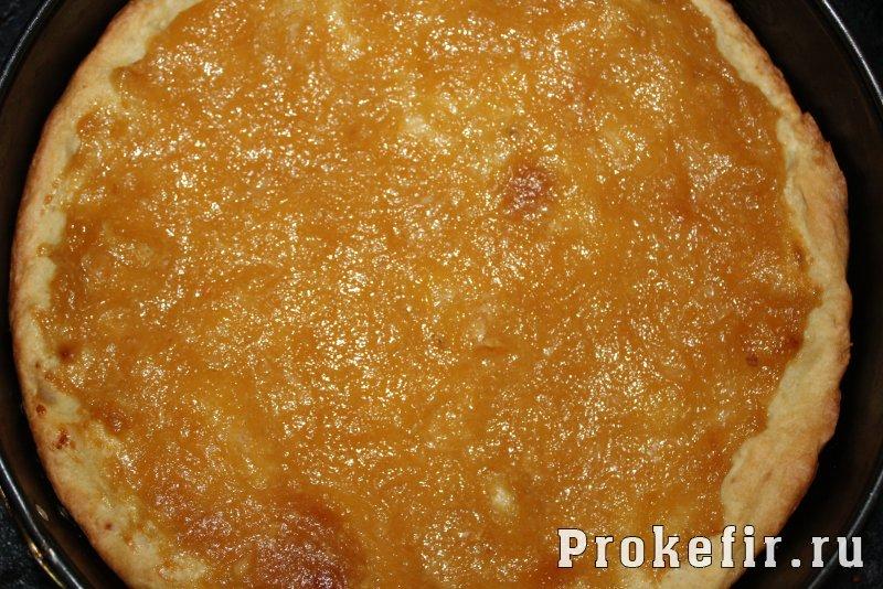 Лимонный пирог из песочного теста с меренгой на кефире: фото 15