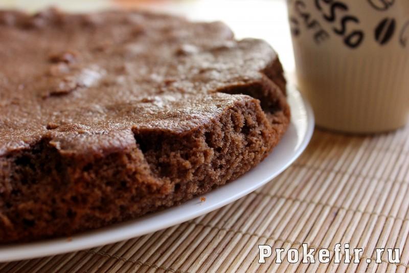Манник с какао на кефире без муки: фото 8