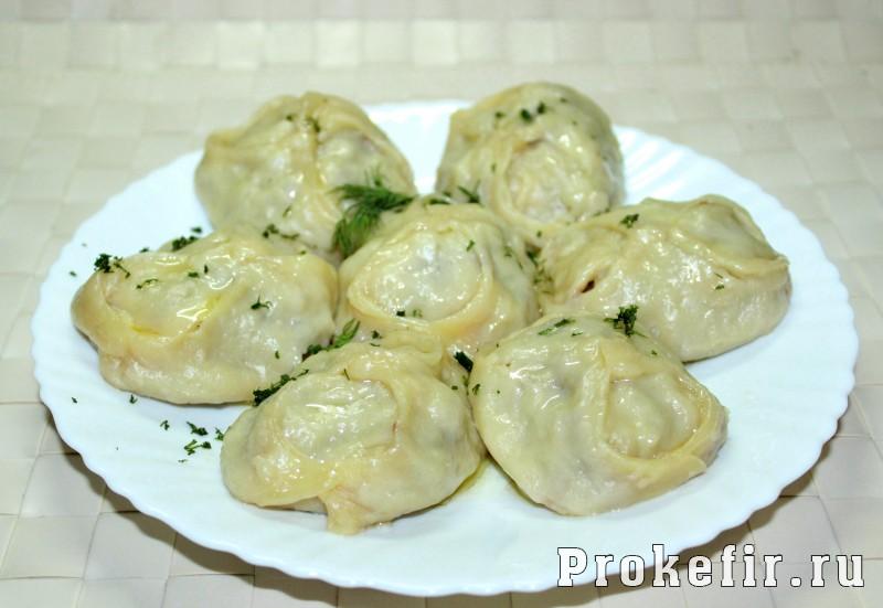 Манты с фаршем и с картошкой пошаговый рецепт с