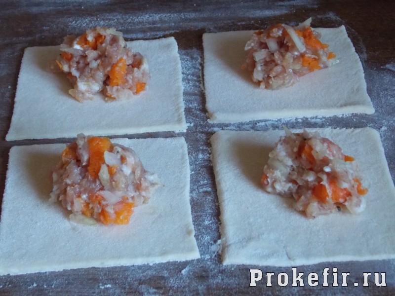 Манты с тыквой и мясом на кефире: фото 6