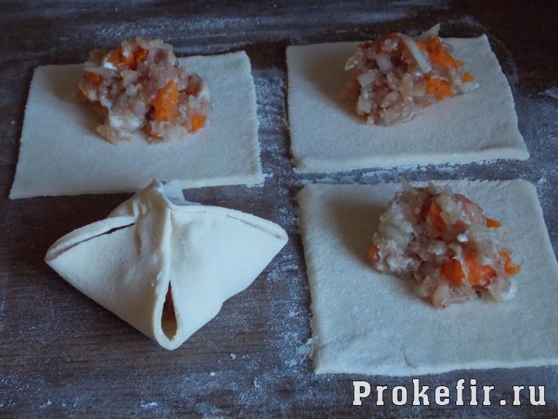 Манты с тыквой и мясом на кефире: фото 8