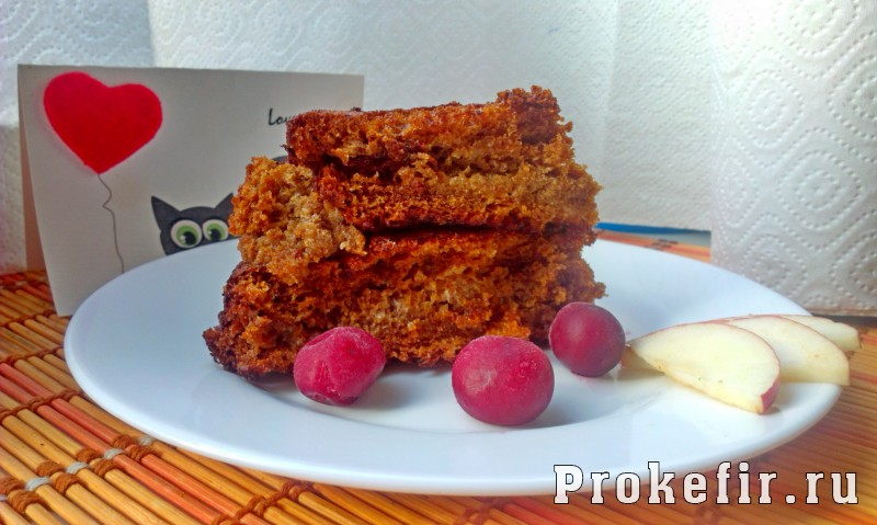 медовик рецепт с фото кефир