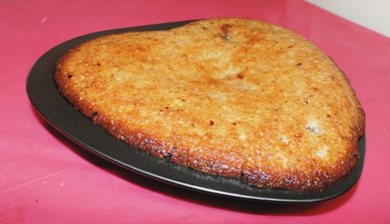 Медовый пирог на кефире с орехами: фото 7