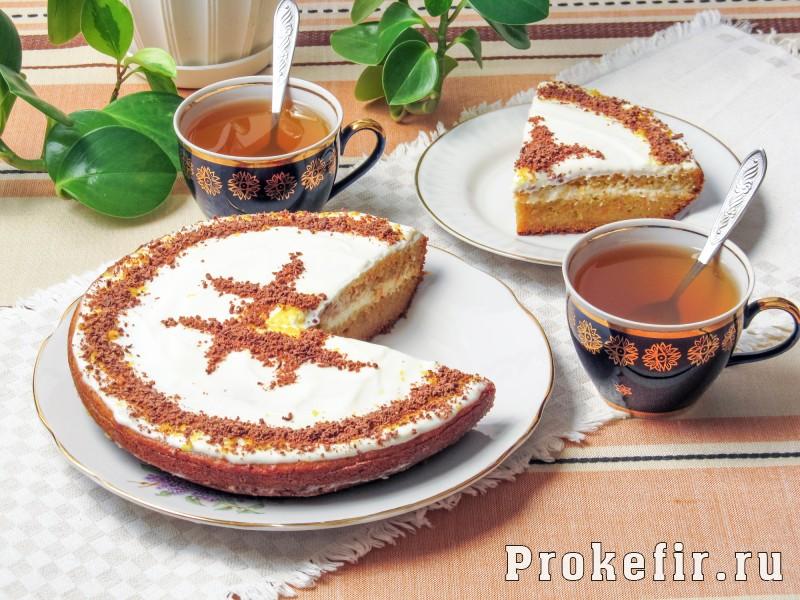 морковный торт с кефиром рецепт