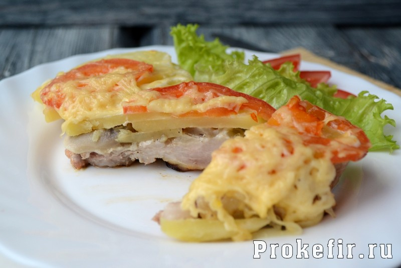 мясо по-французски с картошкой рецепт с фото пошагово