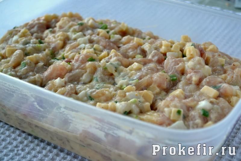 Оладьи из куриной грудки с сыром: фото 5