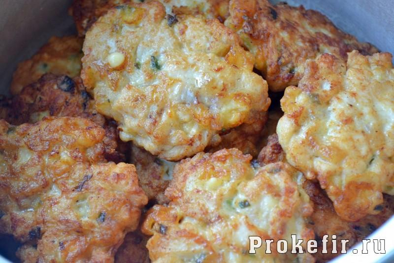Оладьи из куриной грудки с сыром: фото 7