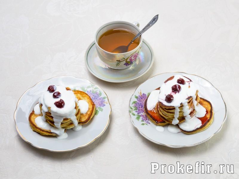 Оладьи на йогурте: фото 4